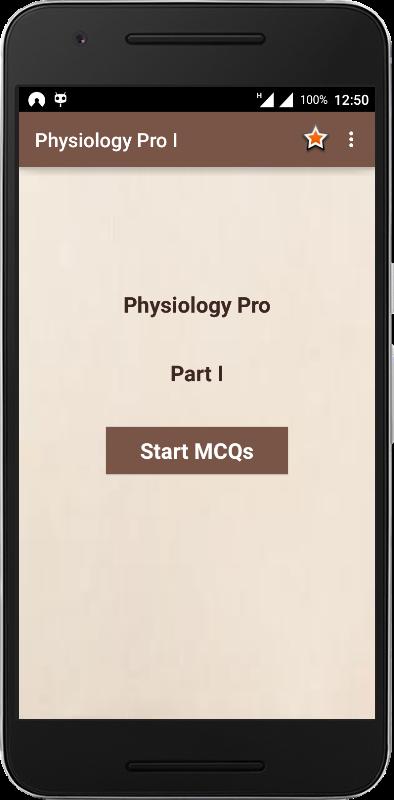 Physiology Quiz I