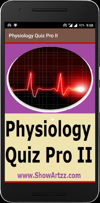 Physiology Quiz II
